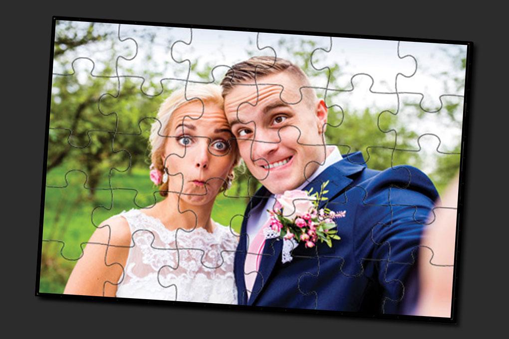 30 darabos fa puzzle saját fotóval